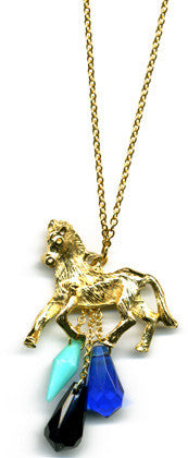 Dawn horse Necklace - Family Affairs