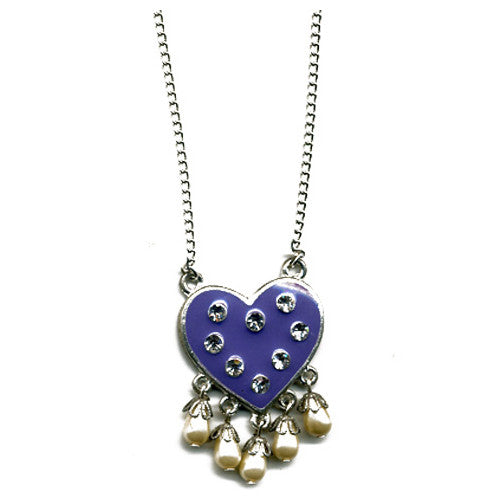 Dream Of Jeannie Heart necklace - Family Affairs
