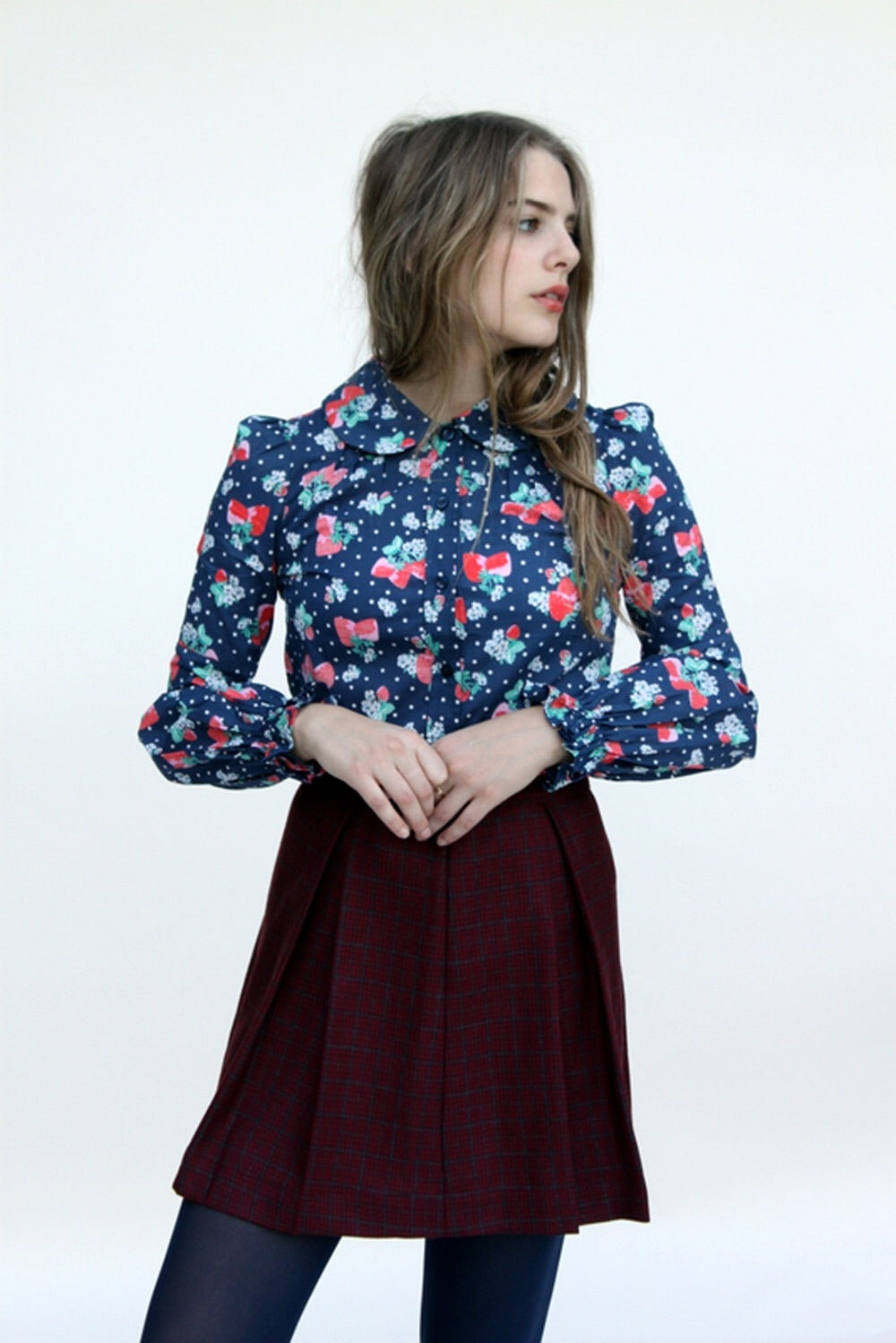 Mayflower wool skirt - Family Affairs
