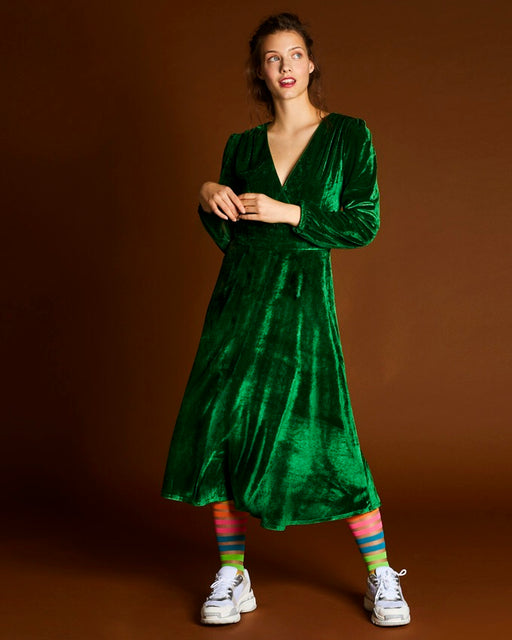 Take Me For Tea Velvet dress - Family Affairs