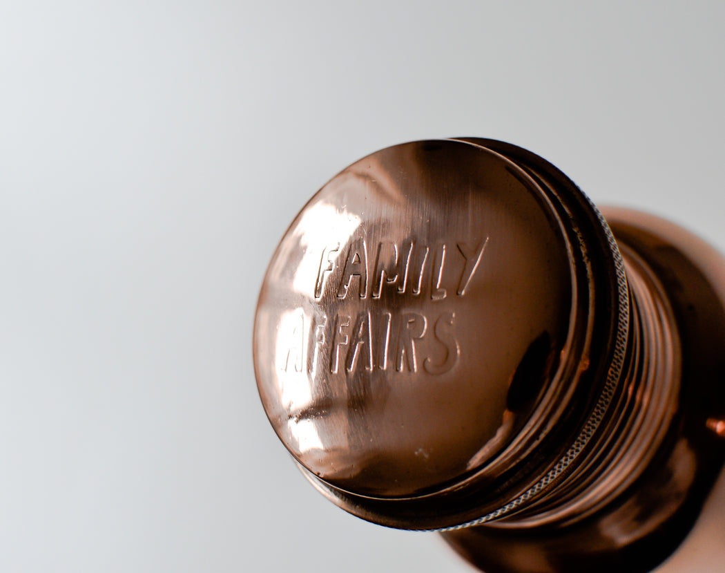 Victory copper water bottle - Family Affairs