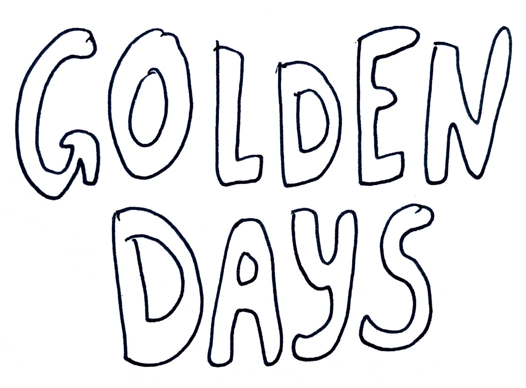 Golden Days copper water bottle - Family Affairs