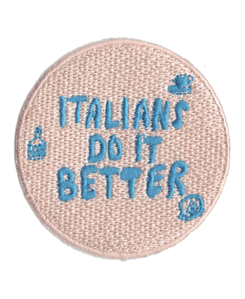 Italians Do It Better patch - Family Affairs