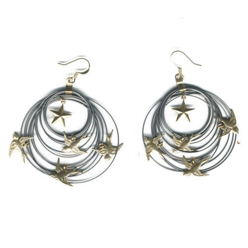 Liberte earrings - Family Affairs