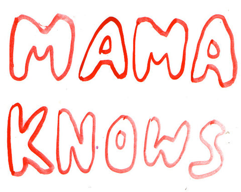 Mama Knows tote bag