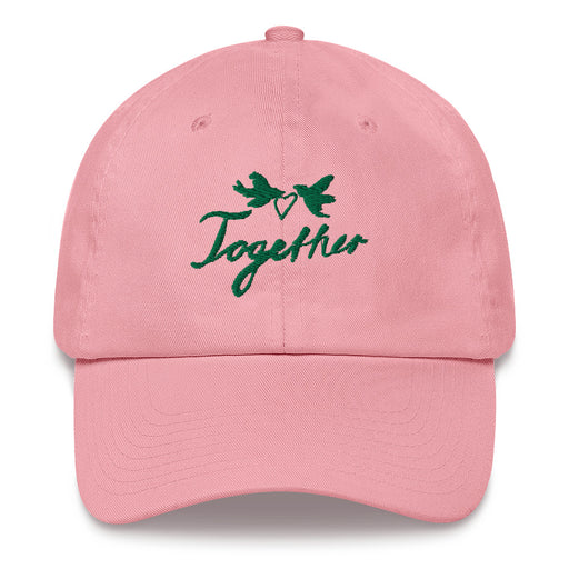 Together hat 💕 pink, white, blue, navy