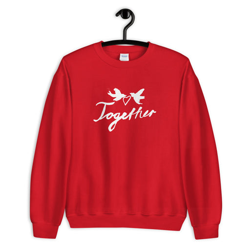 Together sweatshirt navy/ red - Family Affairs