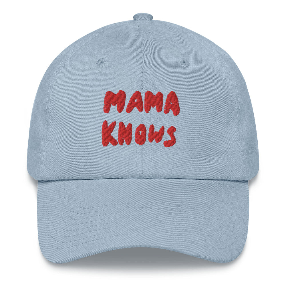 Mama Knows hat- blue - Family Affairs
