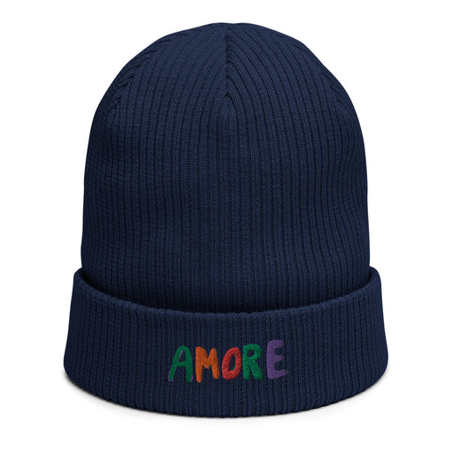 Amore organic cotton knit hat- various colors