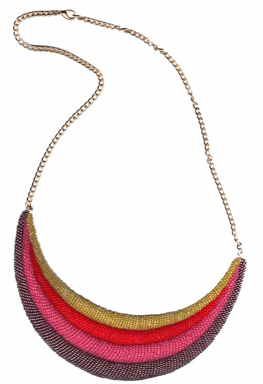 Rainbow Valley Pink necklace - Family Affairs