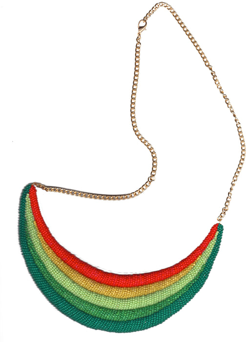 Rainbow Valley Green necklace - Family Affairs