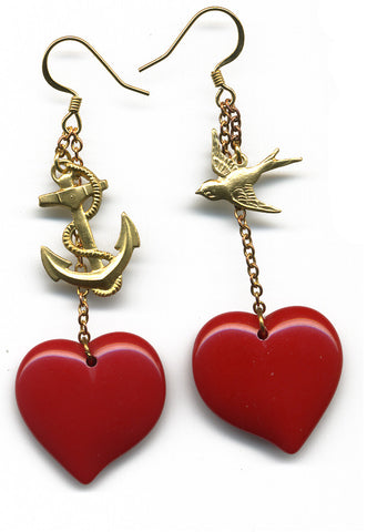 Sailor Love earrings - Family Affairs