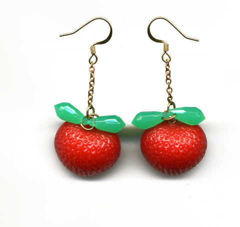 Strawberry Fields Earrings - Family Affairs  - 1