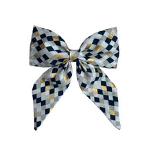 Load image into Gallery viewer, Midnight Diamond Sailor Bow