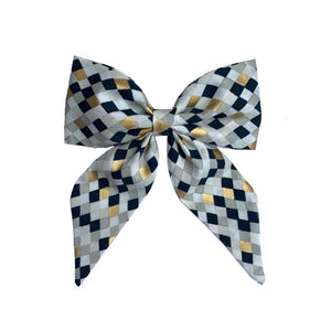 Midnight Diamond Sailor Bow
