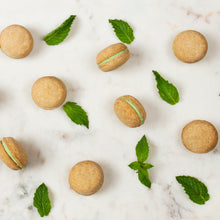 Load image into Gallery viewer, Mint Dog Macarons