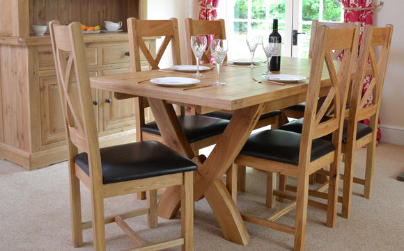 The Bergerac Oak Living and Dining Collection