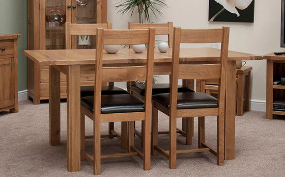 The Country Oak Living & Dining Collection
