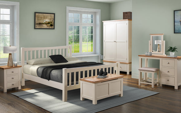 The Chalton Painted & Oak Bedroom Collection