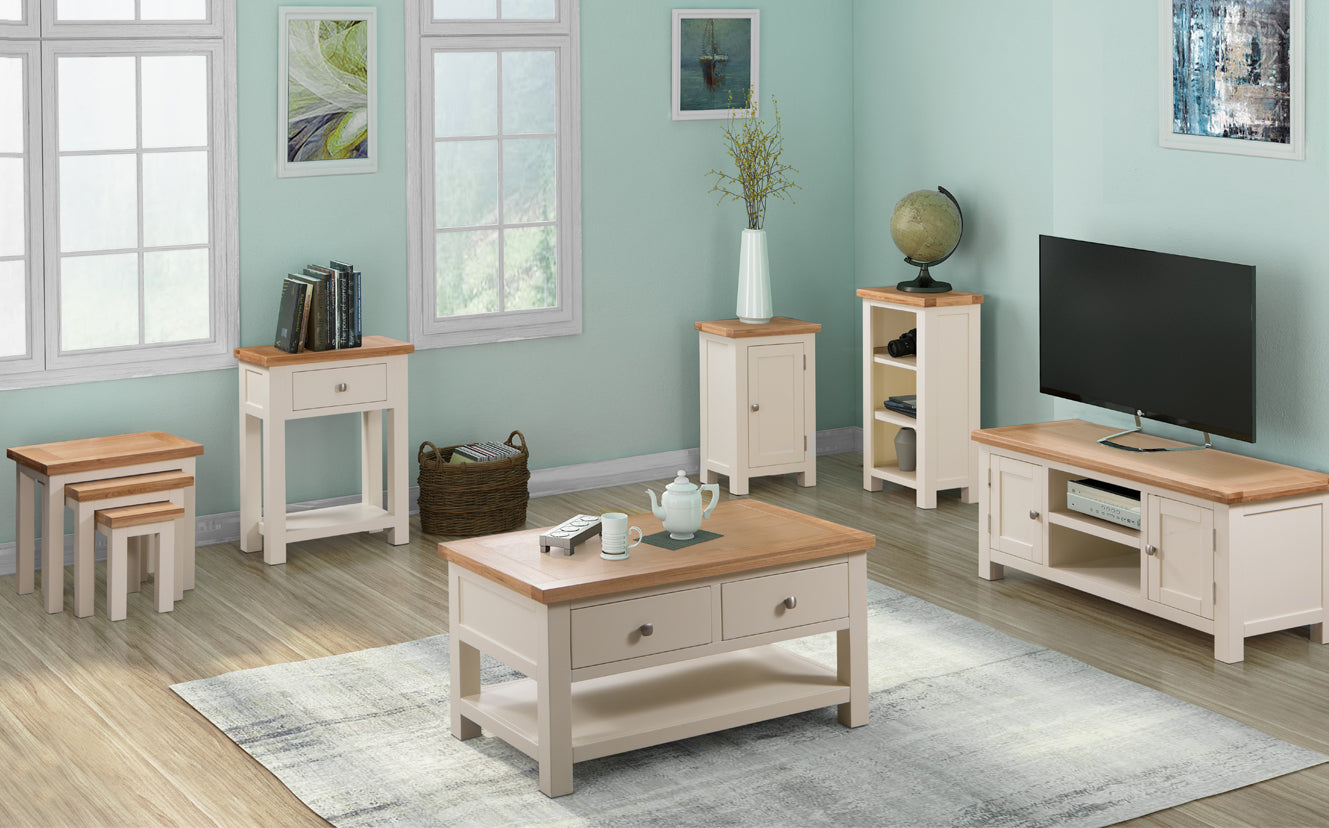 The Chalton Painted & Oak Living & Dining Collection