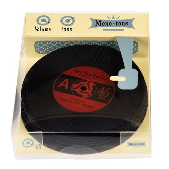 Vinyl Record Coasters Set of 6