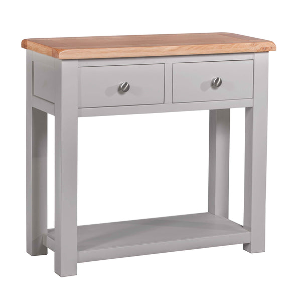 Amberley Grey Painted and Oak Hall Table