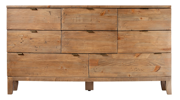Hamilton Reclaimed 8 Drawer Wide Chest