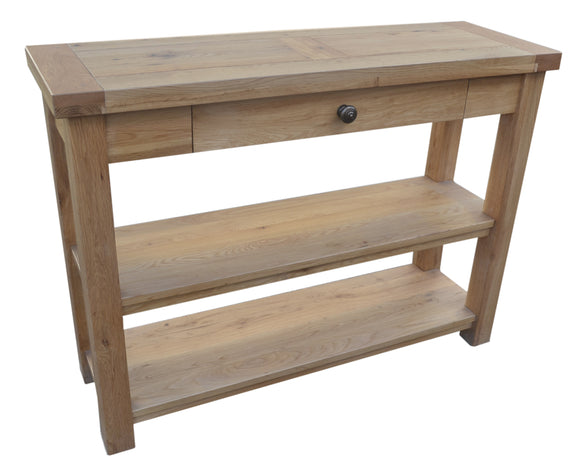Bergerac Solid Oak Console Table