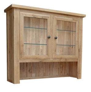Bergerac Solid Oak 2 Door Dresser Top
