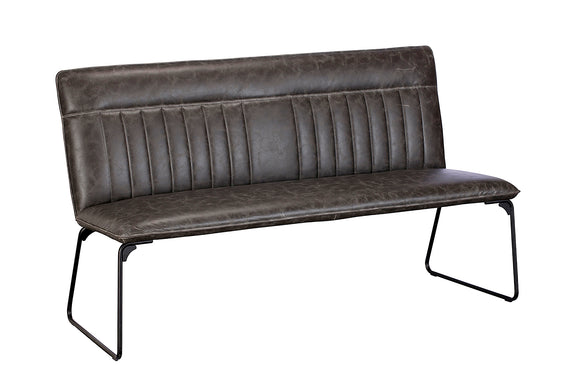 Avenger Dining Bench - Grey