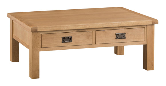 Cotswold Oak Large Coffee Table