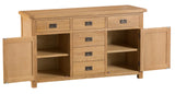 Cotswold 2 Door 6 Drawer Sideboard