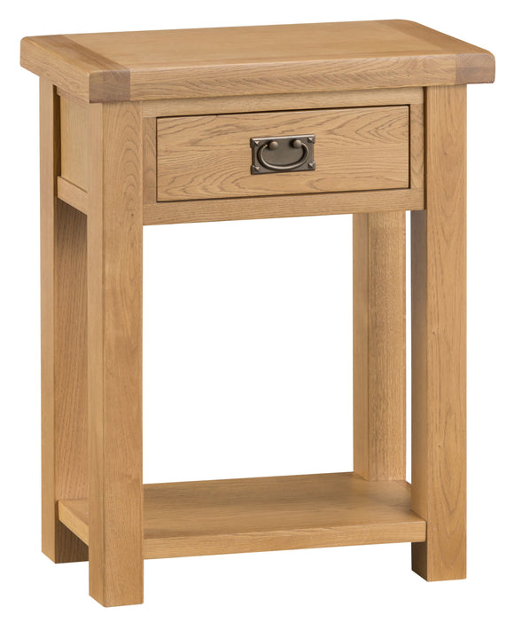 Cotswold Oak Small Console Table