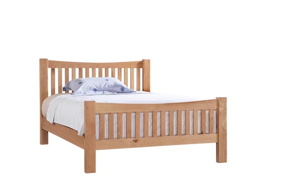 Chalton Oak 4ft 6in Double Bed