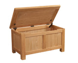 Chalton Oak Blanket Box