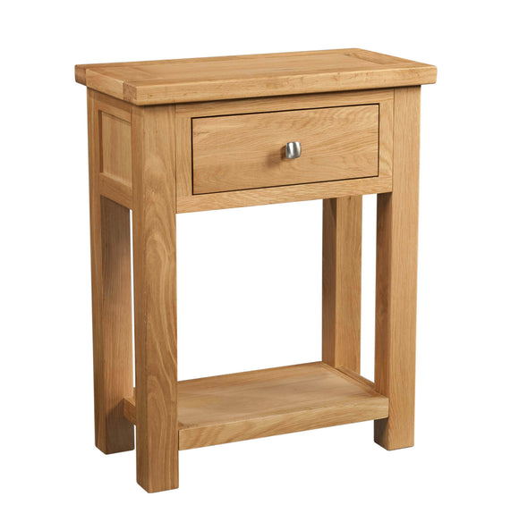 Chalton Oak 1 Drawer Console Table