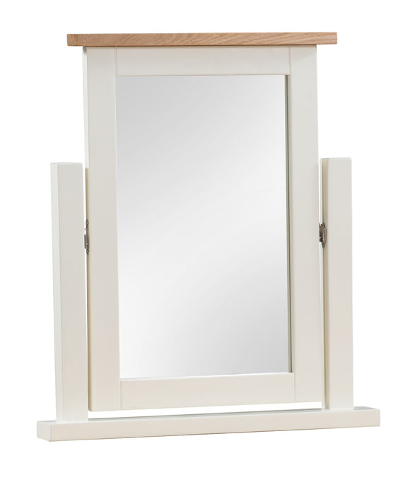 Chalton Painted & Oak Swing Mirror