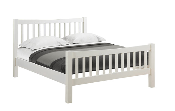 Chalton Painted & Oak 5ft King Size Bed