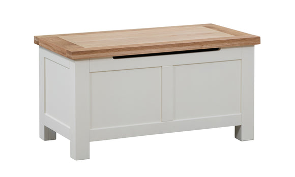 Chalton Painted & Oak Blanket Box