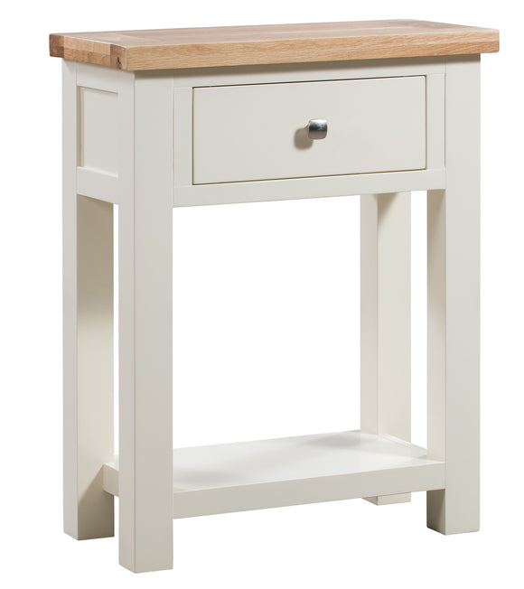 Chalton Painted & Oak Small Console Table