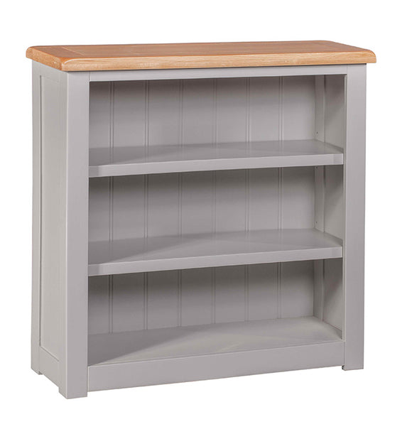 Amberley Grey Painted and Oak Small Bookcase