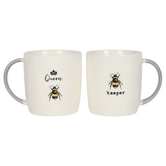 Queen & Keeper Mugs Set