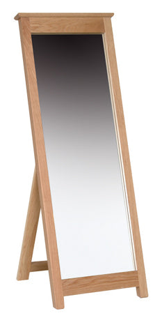 Essential Oak Cheval Mirror