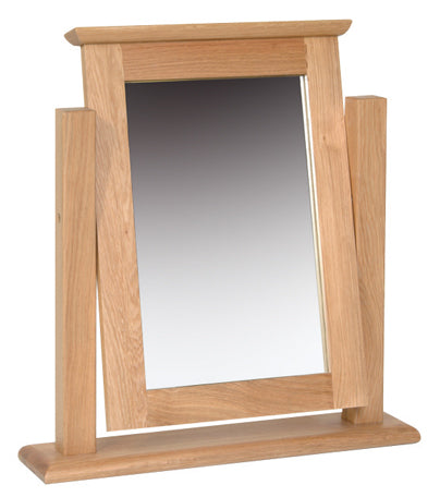 Essential Oak Dressing Table Mirror