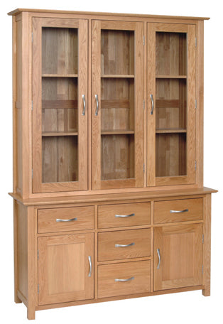 Essential Oak Large Dresser Complete