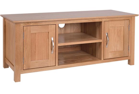 Essential Oak Large TV Unit