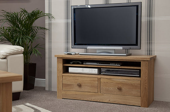 Fernhurst Oak Small TV Unit