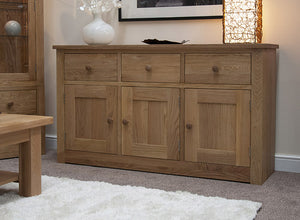 Fernhurst Oak Large Sideboard