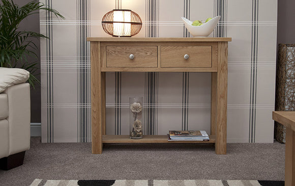 Fernhurst Oak Console Table