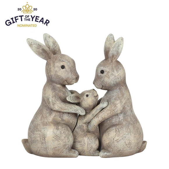 Bunny Family Ornament